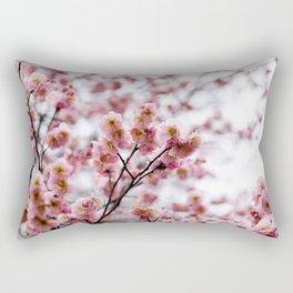 The First Bloom Rectangular Pillow