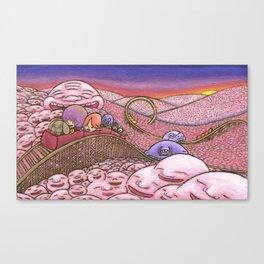 Mr. Joy  Coaster Canvas Print