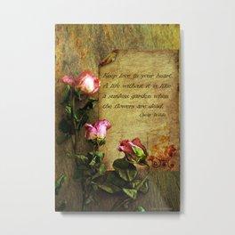 Roses of love Metal Print
