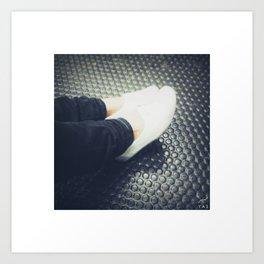 female feet #2 Art Print
