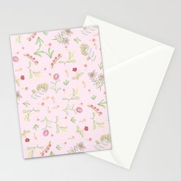 Pink Garden Stationery Cards