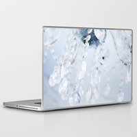 crystals Laptop & iPad Skins featuring Crystals by Mauricio Santana