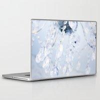 crystals Laptop & iPad Skins featuring Crystals by Mauricio Santana