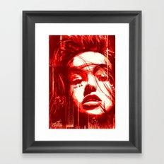 Queen of Diamond Framed Art Print