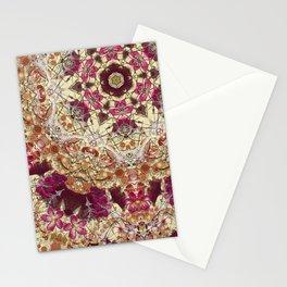 Maroon Ginko Stationery Cards