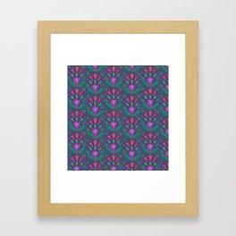 Kurbits Pattern - Balance - Scandinavian Folk Art Framed Art Print