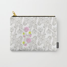 Cherry Flower  Carry-All Pouch