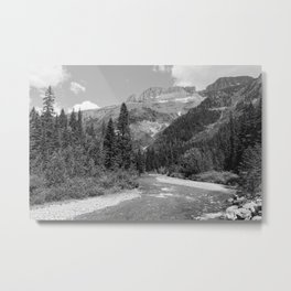 Alpine Ridge Metal Print