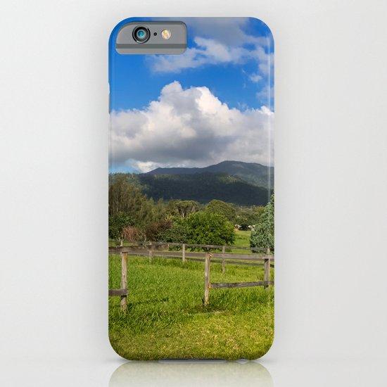 Idyllic rural view iPhone & iPod Case