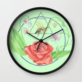 The Sacred Queen Wall Clock