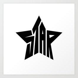 Star Logo Art Print