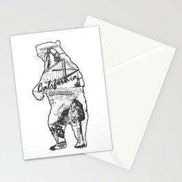 California Bear Stationery Cards