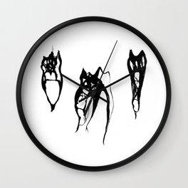 Teeth Diaphonized III Wall Clock