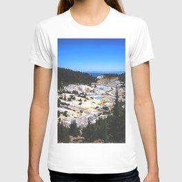 Bumpass Hell Pass Lassen Volcanic National Park T-shirt