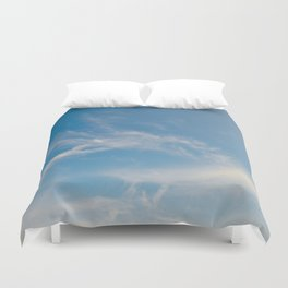 Hummingbird Cloud by Teresa Thompson Duvet Cover