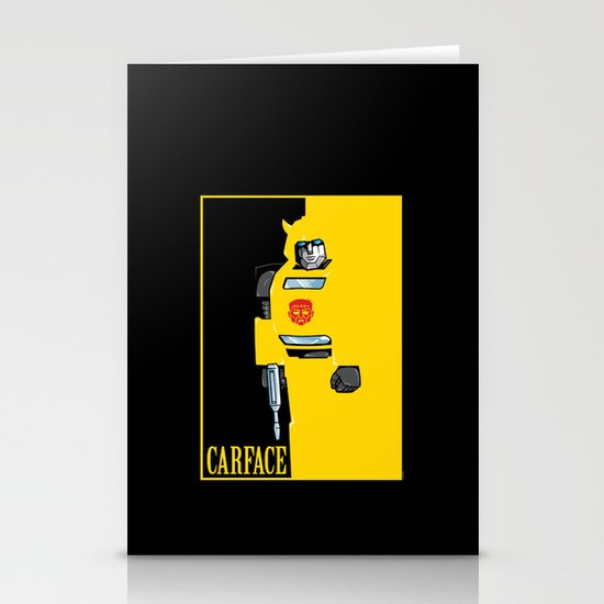Carface Stationery Cards