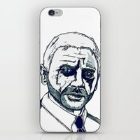bond iPhone & iPod Skins featuring Bond. by Thomas Wright Illustration