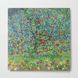 "Gustav Klimt ""Apple tree"" Metal Print"