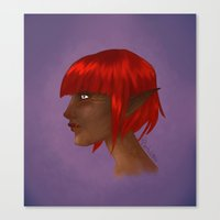 elf Canvas Prints featuring Elf by kortothecore