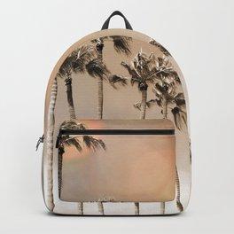 Bokeh Palms Backpack