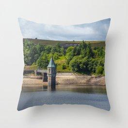 Pontsticill Reservoir August 2018 Throw Pillow