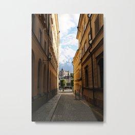Stockholm Sunset Metal Print