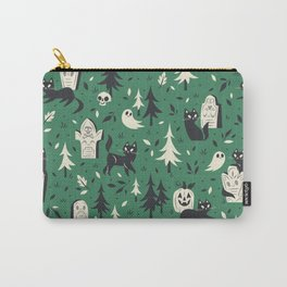 Cemetery Cuties (Green) Carry-All Pouch