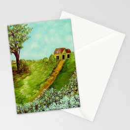 Cotton on a Cloudy Day Stationery Cards