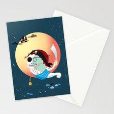 Captain Vermelho Stationery Cards