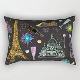 C'est la fete ! Rectangular Pillow