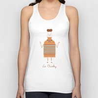 whisky Tank Tops featuring Le Ouisky by Teo Zirinis