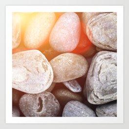 Light on the Rocks Art Print