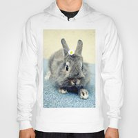 bunny Hoodies featuring Bunny by Falko Follert Art-FF77