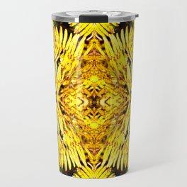 Fern Yellow Travel Mug