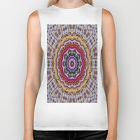 woodstock Biker Tanks featuring Woodstock Pattern kinda by Pepita Selles