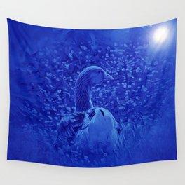 Oie dans les jardins de carrouges by GEN Z Wall Tapestry