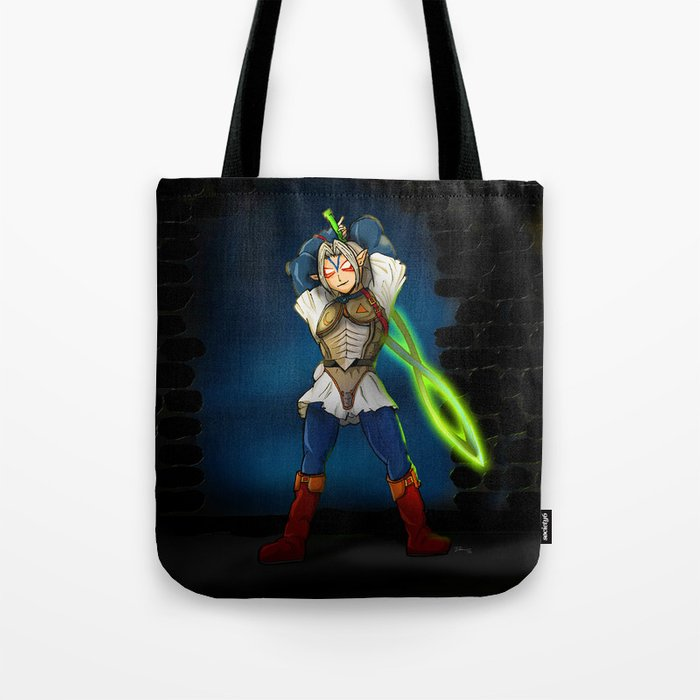 A Link to the Oni Tote Bag