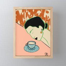 SILENT JOY Framed Mini Art Print