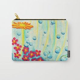 Aqua Fleur - Mazuir Ross Carry-All Pouch