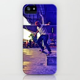 Colorful Skater iPhone Case