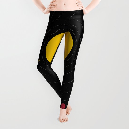 Music, Everywhere Leggings