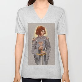 'Joan of Arc' / Zendaya Unisex V-Neck
