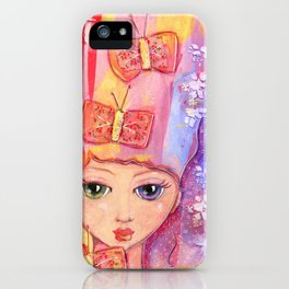 """""""butterfly bows"""" by Dani Choate iPhone Case"""