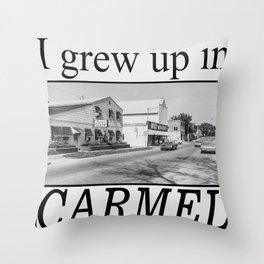 I grew up in Carmel Throw Pillow