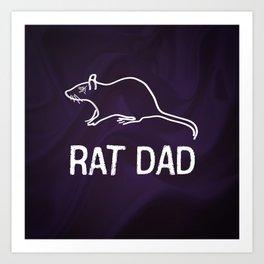 Corvo: Rat Dad Art Print