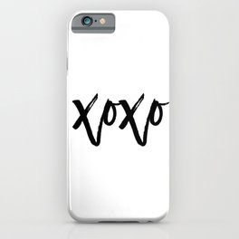 Fashion Poster Fashion Wall Art Typography Print Quote Girl Room Decor Kanye XOXO Gossip Girl Quote iPhone Case