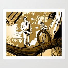 To Kill A Mockingbird 3 Art Print