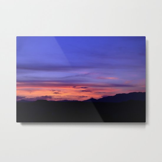 Southwest Sunrise Metal Print