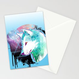 Wolf Aura Stationery Cards