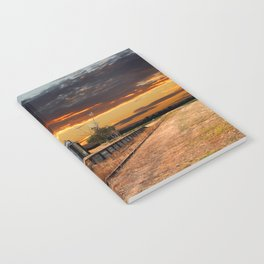 Sunset at the Coonawarra Rail Station Notebook